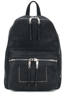 Rick Owens double-zip backpack