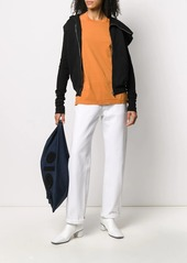 Rick Owens draped collar zip up jacket