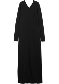 Rick Owens Draped Cotton-jersey Maxi Dress