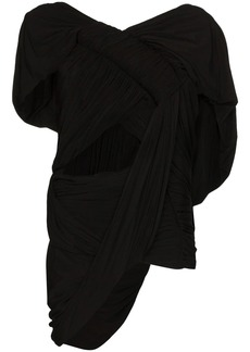 Rick Owens draped cutout top