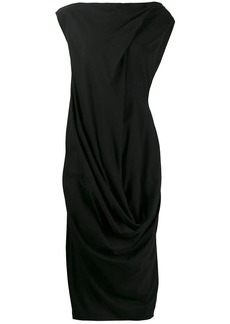 Rick Owens draped dress