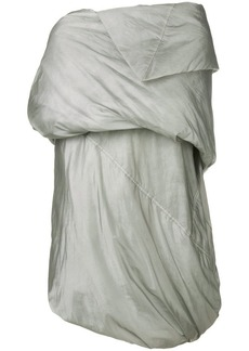 Rick Owens draped padded coat