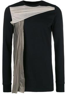 Rick Owens draped panel T-shirt