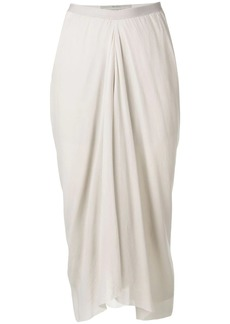 Rick Owens draped skirt