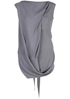 Rick Owens draped tank top