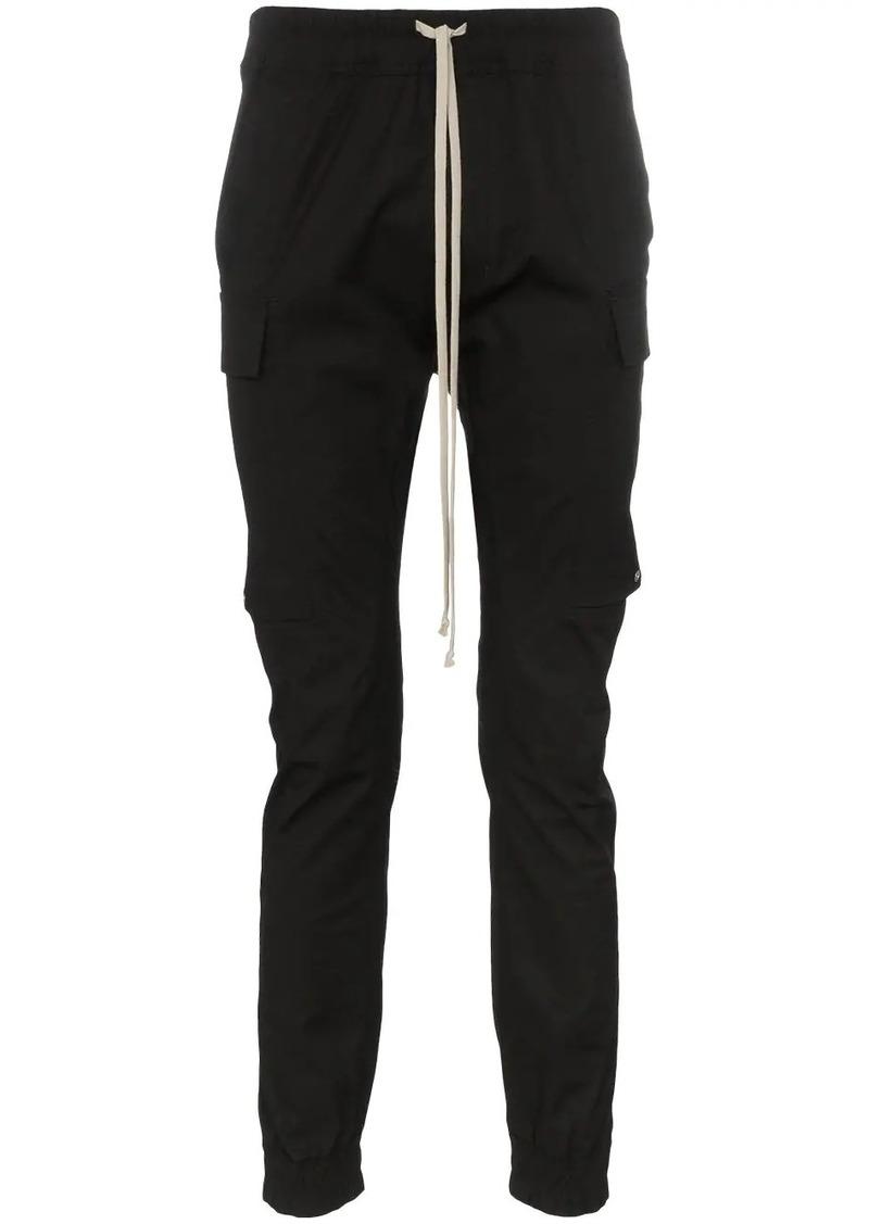 Rick Owens drawstring flap pocket trousers