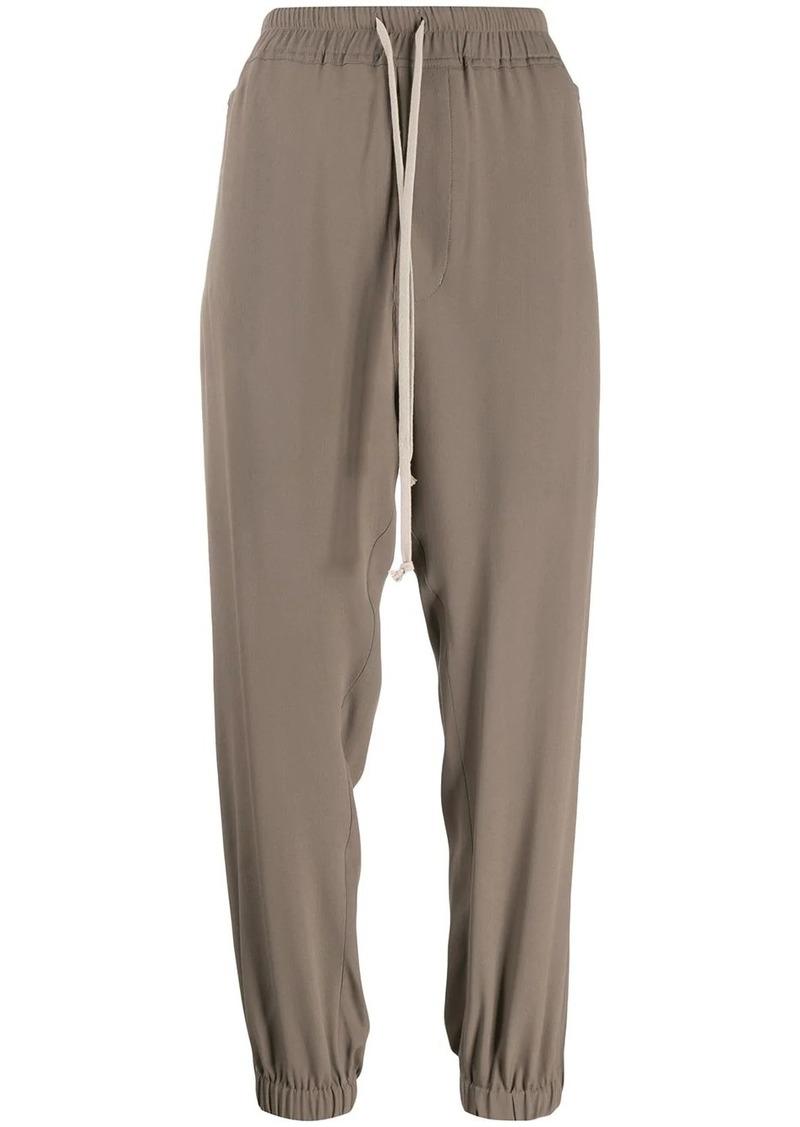 Rick Owens drawstring track trousers