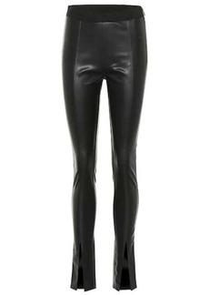Rick Owens DRKSHDW faux leather leggings