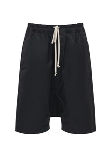 Rick Owens Drkshdw Organic Cotton & Nylon Shorts