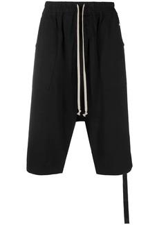 Rick Owens drop-crotch shorts
