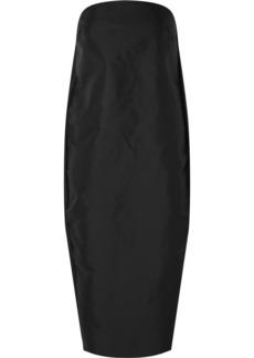 Rick Owens Elipse Technical Canvas Midi Dress