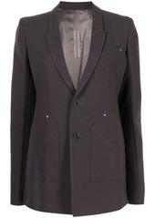 Rick Owens Extreme Performa blazer jacket
