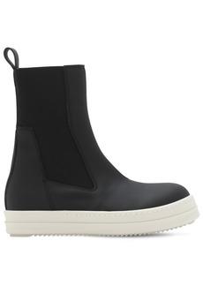 Rick Owens Faux Leather Beatle Boots