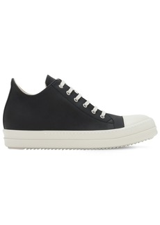 Rick Owens Drkshdw Faux Leather Low-top Sneakers
