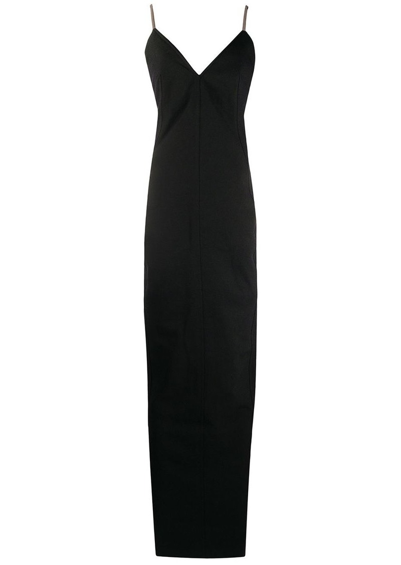 Rick Owens fitted backless dress