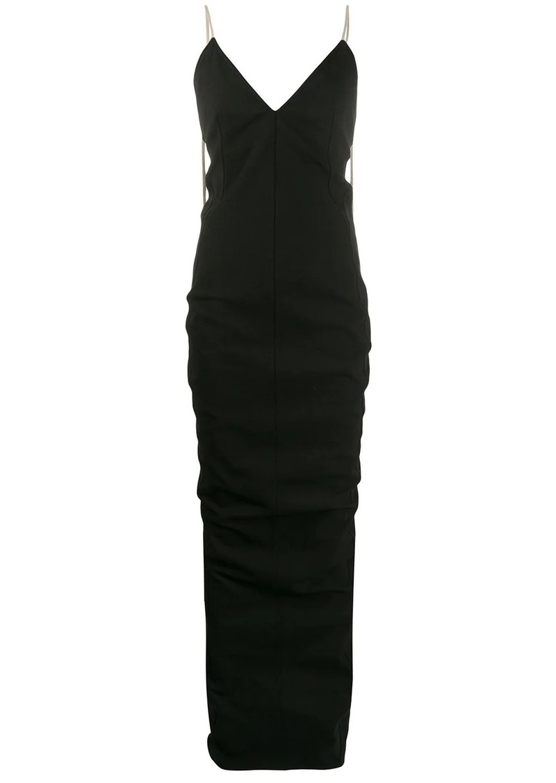 Rick Owens fitted evening dress
