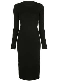 Rick Owens fitted midi dress