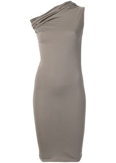 Rick Owens fitted one-shoulder dress