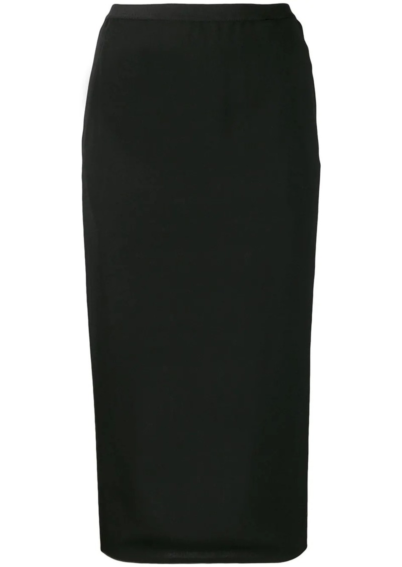 Rick Owens fitted skirt