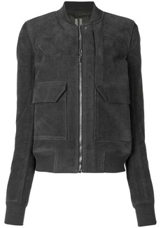 Rick Owens flap pocket zipped jacket