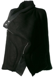 Rick Owens foldover jacket