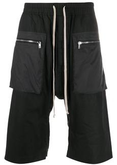 Rick Owens front pocket track shorts