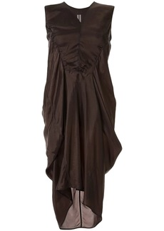 Rick Owens gathered sleeveless dress