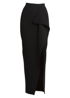 Rick Owens Grace Ruffle Knit Maxi Skirt