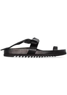 Rick Owens Granola leather sandals