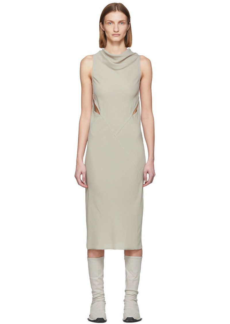 Rick Owens Grey Skorpio Dress
