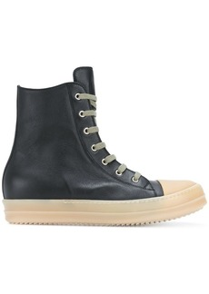 Rick Owens hi top sneakers