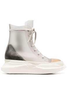 Rick Owens chunky-sole high-top sneakers