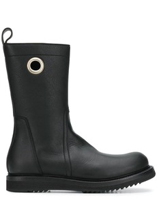 Rick Owens high-ankle leather boots