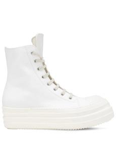 Rick Owens Drkshdw Double Zip Tech Bumper Sneakers