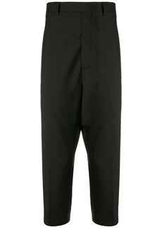 Rick Owens high-rise cropped trousers