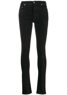 Rick Owens high rise skinny jeans