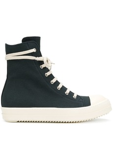 Rick Owens high top sneakers