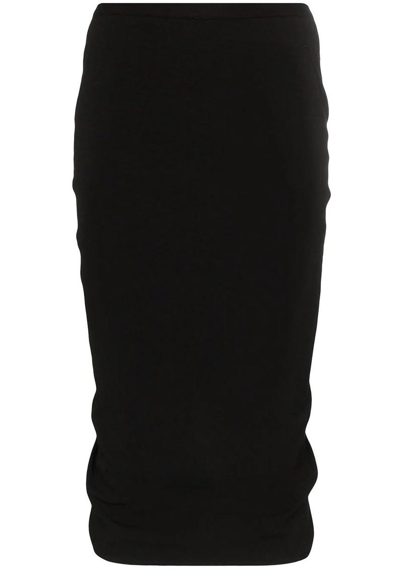 Rick Owens high-waisted skirt