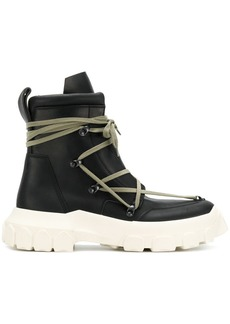 Rick Owens hike lace up boots
