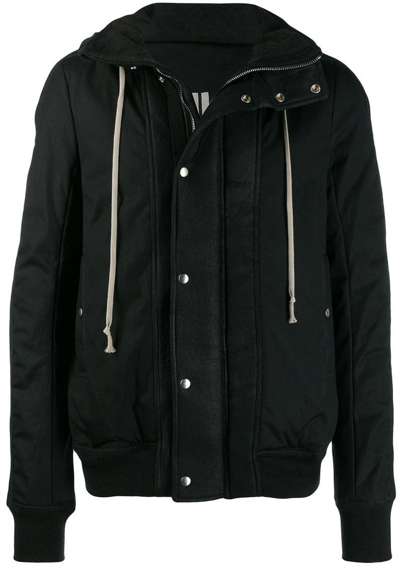 Rick Owens hooded casual jacket