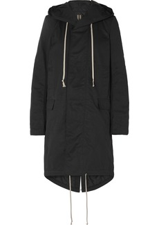 Rick Owens Hooded Faille Parka