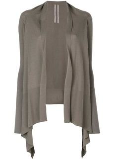 Rick Owens knit draped open cardigan