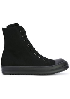 Rick Owens lace-up hi-top sneakers