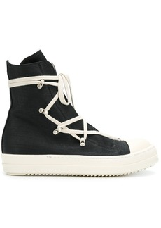 Rick Owens lace-up hi-tops