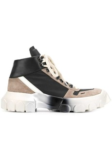 Rick Owens lace-up Tractor sneakers