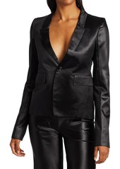 Rick Owens Latex Soft Blazer