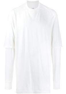 Rick Owens layered long-line T-shirt