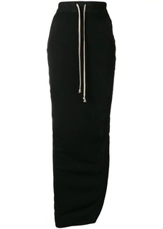 Rick Owens long fitted skirt
