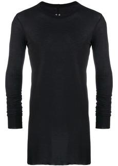 Rick Owens long length sweatshirt