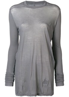 Rick Owens long sleeve crew neck T-shirt